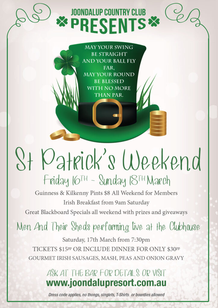 St Patricks Day 2018 A4P Concept Poster